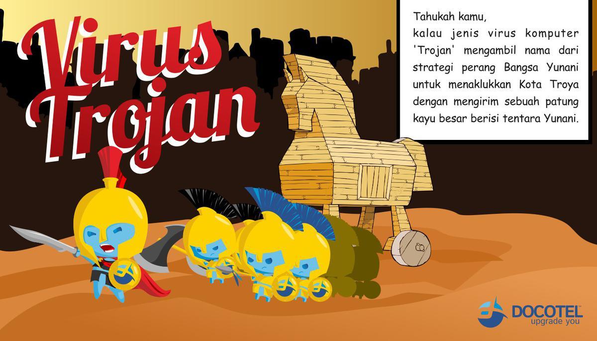 Dibalik Nama Virus Trojan Horse 1
