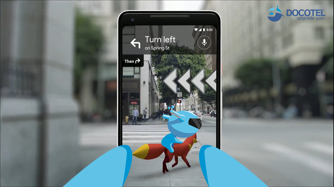Perpaduan Google Maps Dan Augmented Reality 1