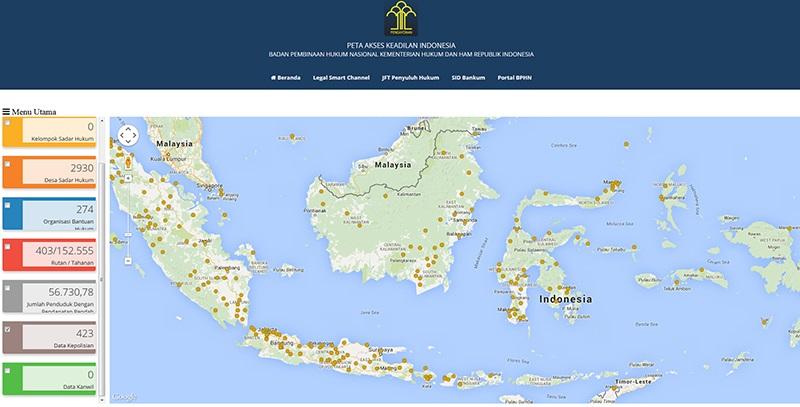 Peta Akses Keadilan 5