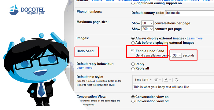 Ayo, Setting Gmail-mu agar E-mail yang Telah Dikirim Bisa Ditarik Kembali 4