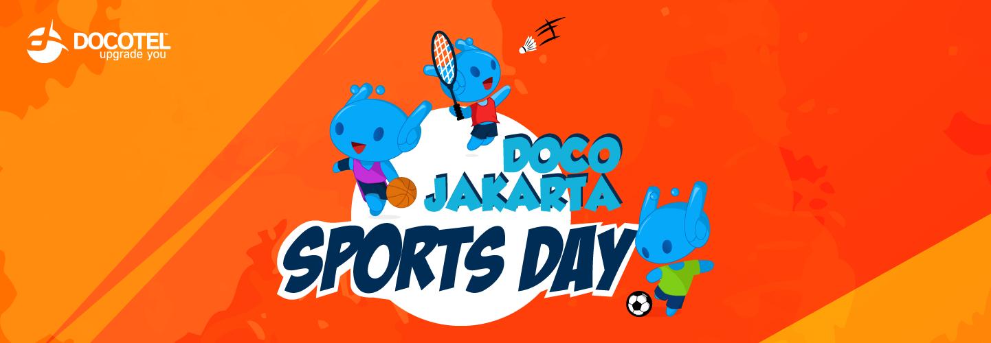 Doco Sports Day Jakarta Kembali Hadir, Intip Keseruannya Yuk! 1