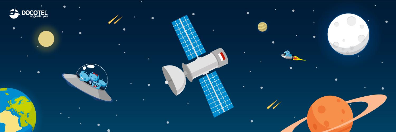 Mengenal Perkembangan Satelit Indonesia 1