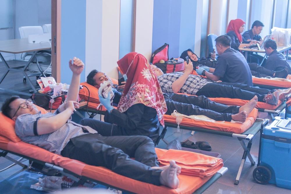 Berbagi Hal Positif Melalui Doco Donor Day 1