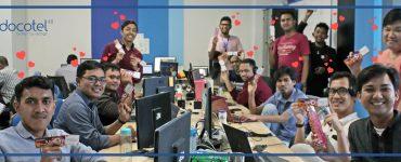 Di Docotel, Karyawan dan Perusahaan Saling Menebar Cinta