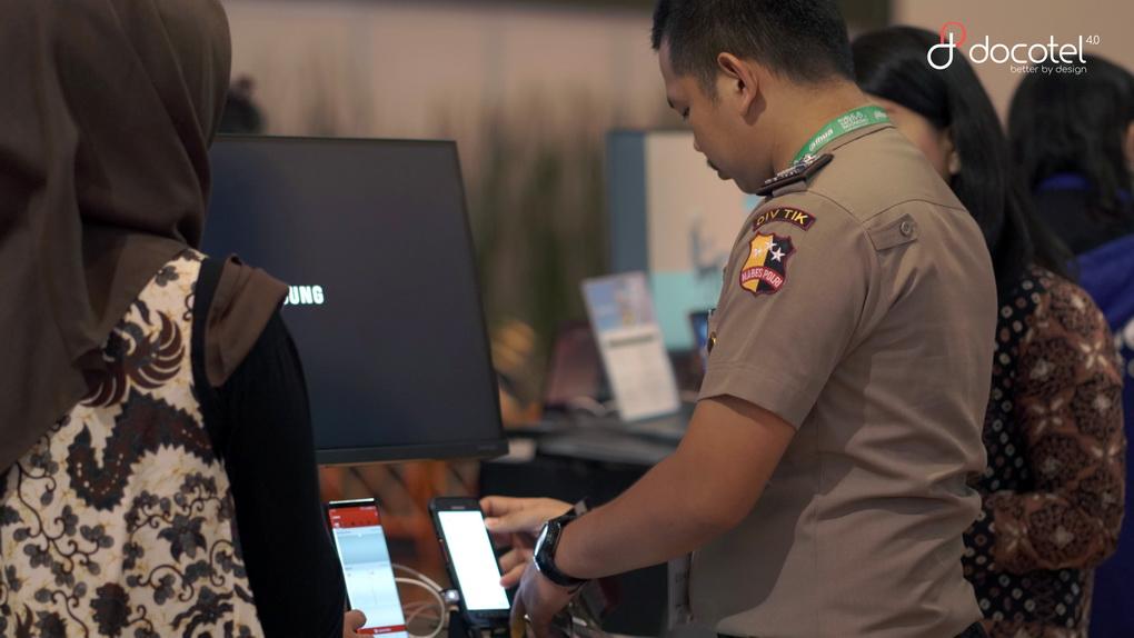 Wujudkan Indonesia Aman, Docotel Kenalkan Aplikasi BOS di Public Safety Indonesia 2019 2