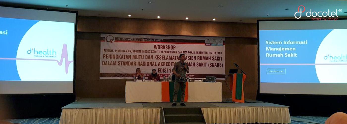 Geliat D'Health di Workshop Komisi Akreditasi Rumah Sakit dan Rumah Sakit Bhayangkara Semarang