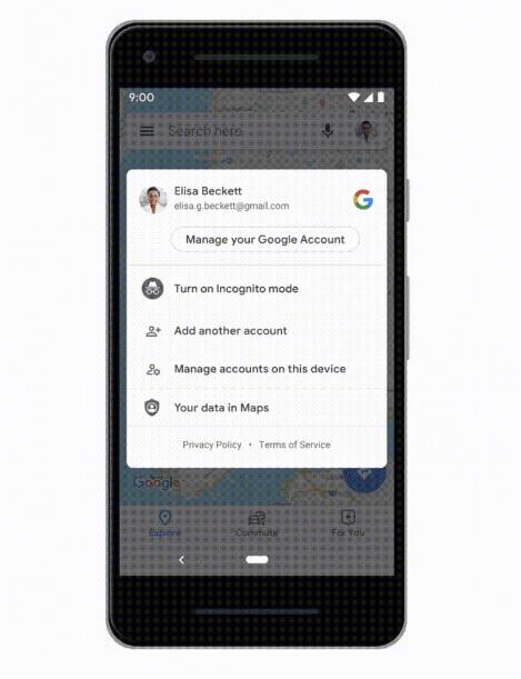 Google Maps Mode Incognito