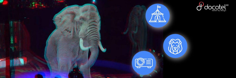 Tak Mau Mengeksploitasi Hewan, Atraksi Sirkus di Jerman Gunakan Teknologi Hologram 3D