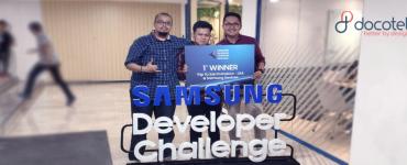Docotel Official Blog - Usung Inovasi Sistem Peresepan Terenkripsi, HIS Docotel Sabet Juara Pertama Samsung Developer Challenge