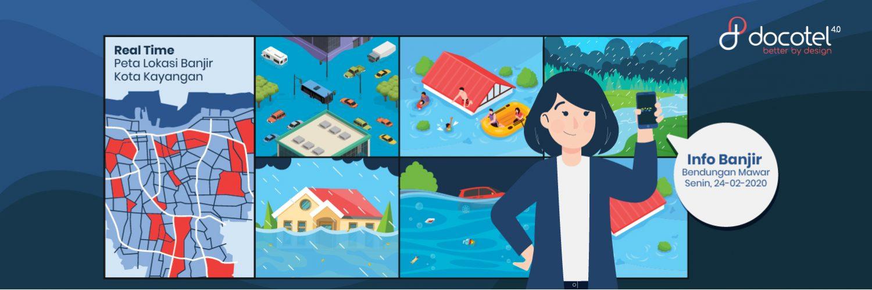 Jangan Sampai Kebanjiran, Pantau Situasi dengan Aplikasi ini