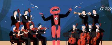 Robot Android Altar 3 Jadi Konduktor di Konser Orkestra - Docotel Official Blog